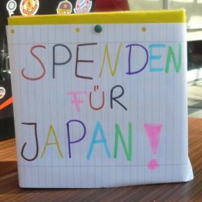Brötchenverkauf der 7G1 für Japan