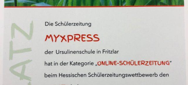 In Hessen die Nummer 1!!! myXPress erneut erfolgreich!